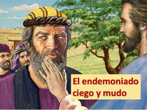 Jésus exorcisa