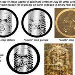 rostro jesus círculo de trigo