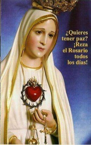 virgen de Fátima milagros