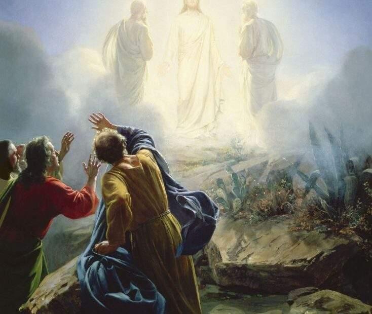 Misterios luminosos transfiguración de Jesús