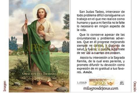 San Judas Tadeo oraciones