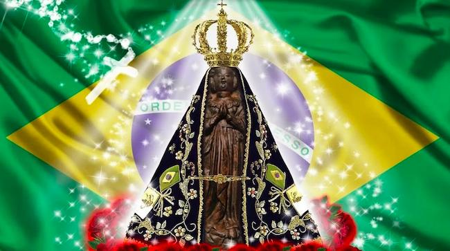 Virgen Aparecida nuestra Señora de Brasil